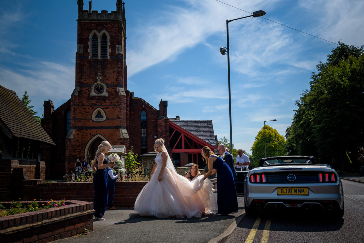 Pendrell Hall Weddings - Mease Valley Photography