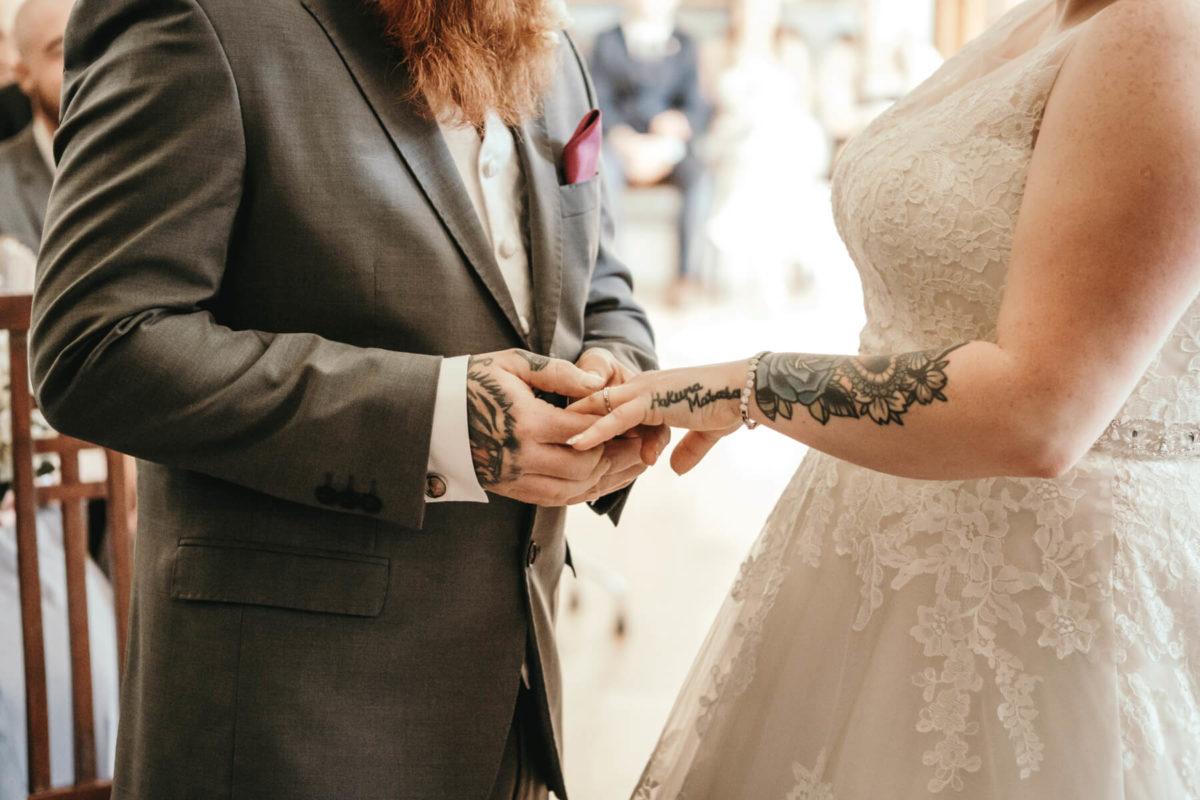 Alternative wedding at Pendrell Hall